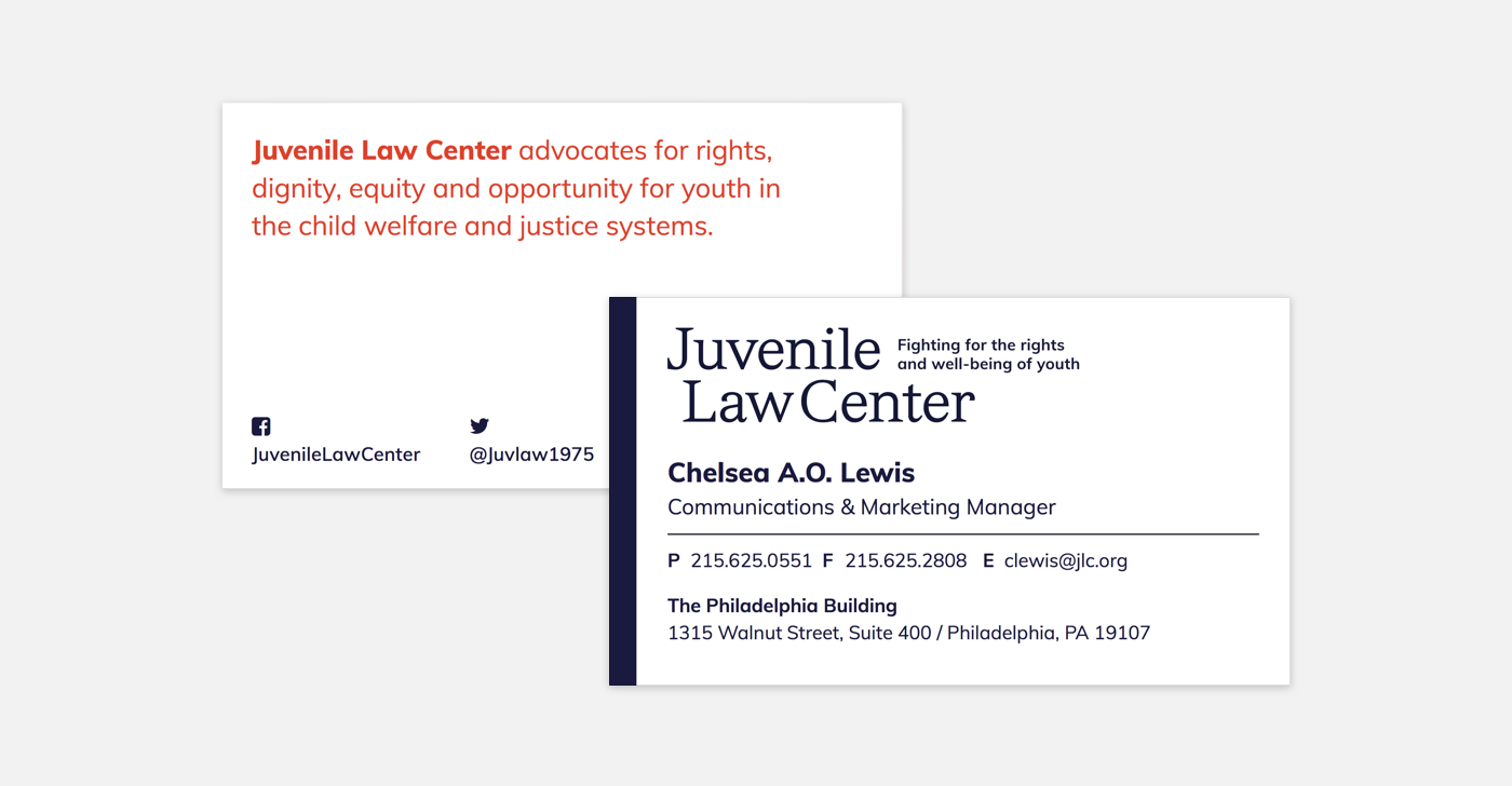 JLC Business Card Sample